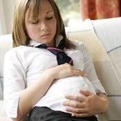 pregnant teen