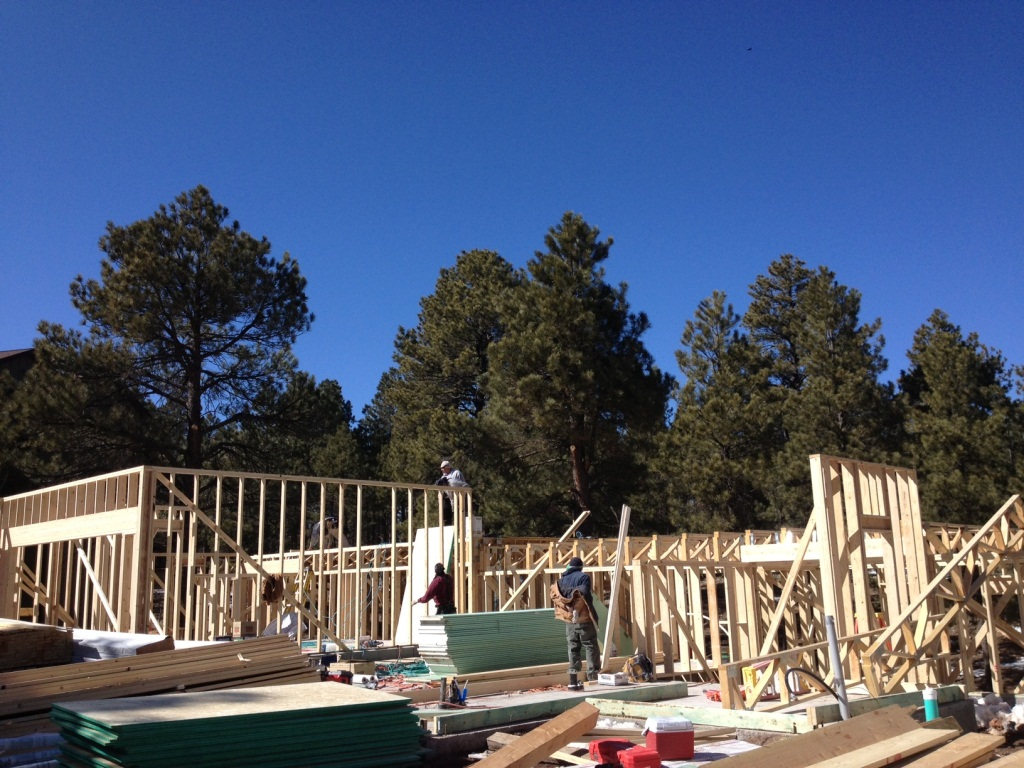 New home permits in flagstaff county soar rose law for New home options