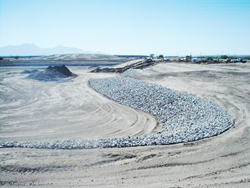The photovoltaic plant will be erected on 491 acres of Asarco mining property