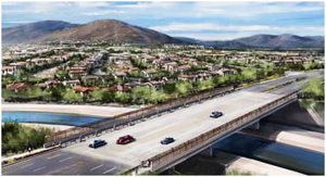 Offering access to Vistancia's future communities, the Vistancia Boulevard Cap Canal Bridge will be completed in 2014.