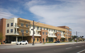 A low-income housing complex in Phoenix.
