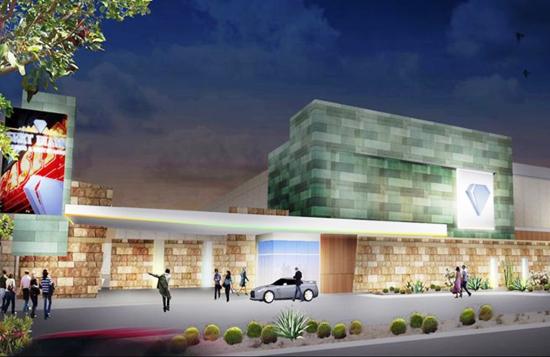 A January 2015 rendering of the Tohono O'odham casino planned near Loop 101 and Northern Avenue. /Photo: Tohono O'odham