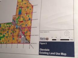 Glendale General Plan map