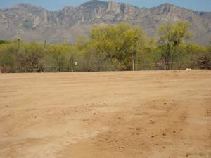housing development site in Tucson