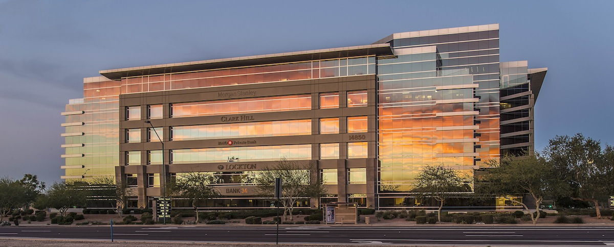 New Mexico Based Bank Leases 10 500 Sf In Furst Properties Scottsdale Building Rose Law Group