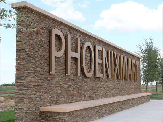 The developers of PhoenixMart in Casa Grande anticipated the 1.5 million square foot project – the largest trade center in North America – would open in late 2012 or early 2013./ Photo by Amy Edelen