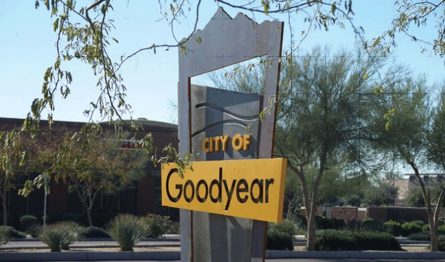 goodyear officials say the sale indicates optimism for the southwest valley