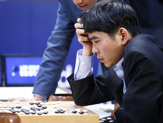 18-time world champion Lee Se-dol learning something new from AlphaGo - defeat