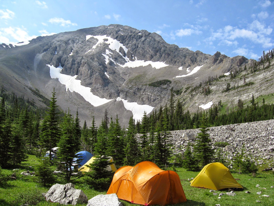 Rocky Mountain peak is in the Our Lake Addition to the Bob Marshall Wilderness Area under Heritage Act