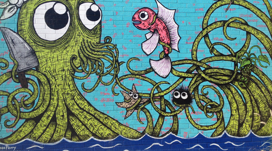 Roosevelt Row graffiti/Andy Blackledge/Flickr