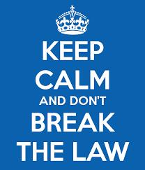 don't break law