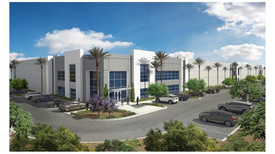 Liberty Property Trust is developing the Liberty Logistics Center II.