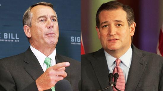 "John Boehner calls Ted Cruz ""Lucifer in the flesh."" / Getty images.png"