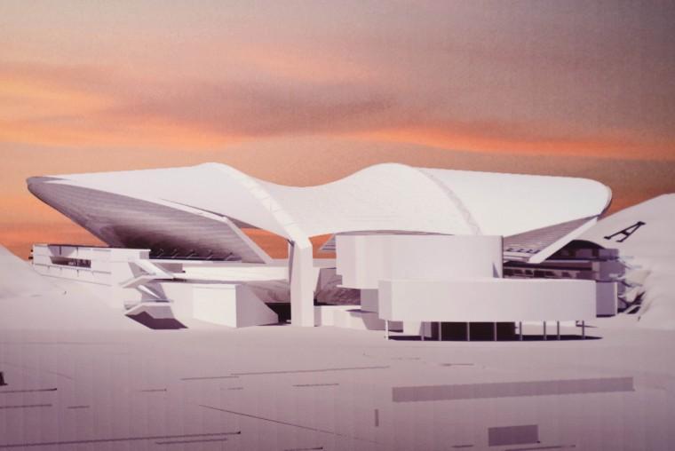 Sun Devil Stadium renovations Initial rendering of Sun Devil Stadium:Angela Piazza