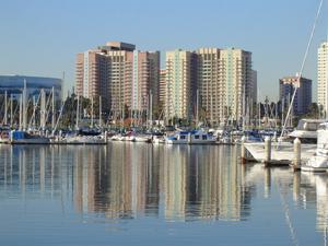 Aqua waterfront condominiums in Long Beach, California,:Wikipedia