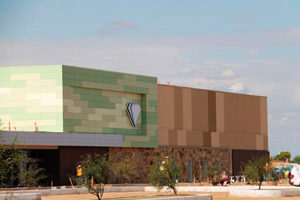 The exterior of Desert Diamond West Valley Casino