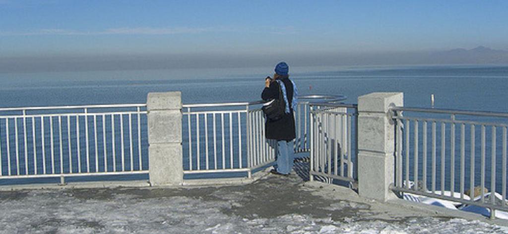The Great Salt Lake/Rachel Lovinger/Flickr