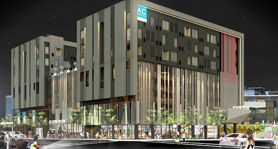 A Rendering Of The Ac Hotel Tucson By Marriott Which Will Be First