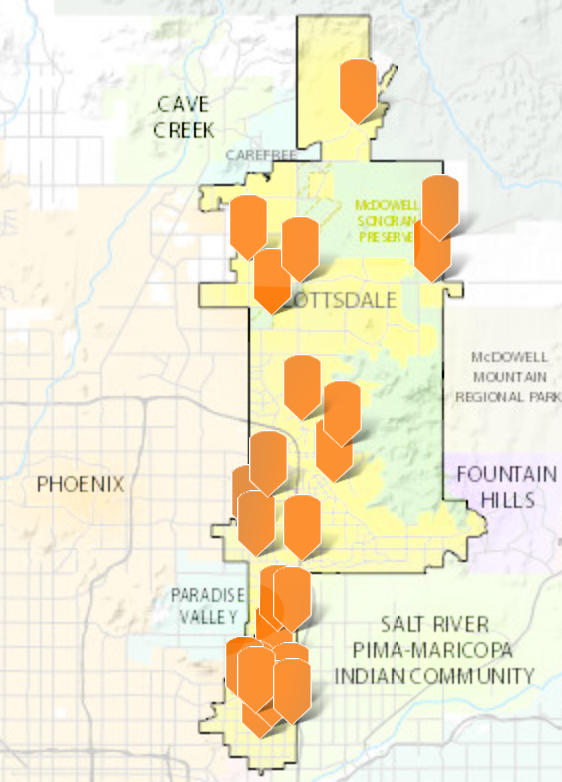 Scottsdale unveils interactive map of city construction projects