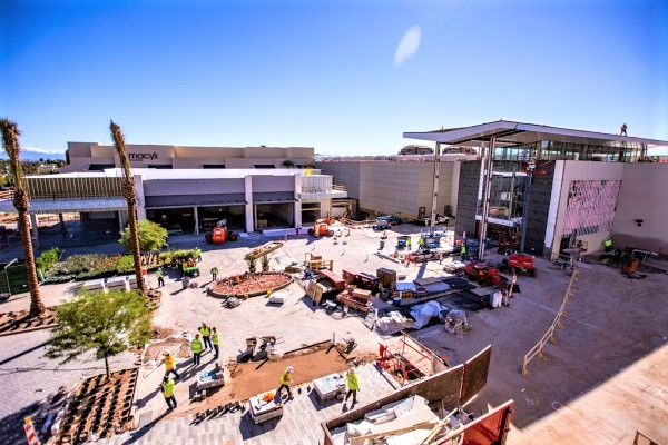 Scottsdale Fashion Square Marks Renovation Milestone Rose