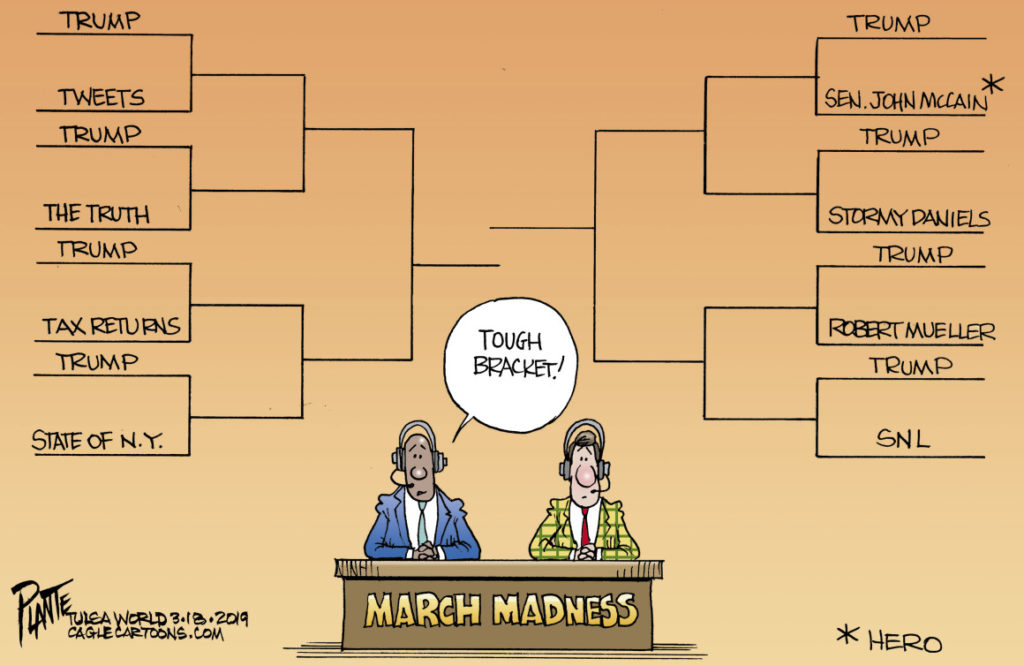 Can Trump beat Duke? Rose Law Group Notable Cartoon - Rose Law Group