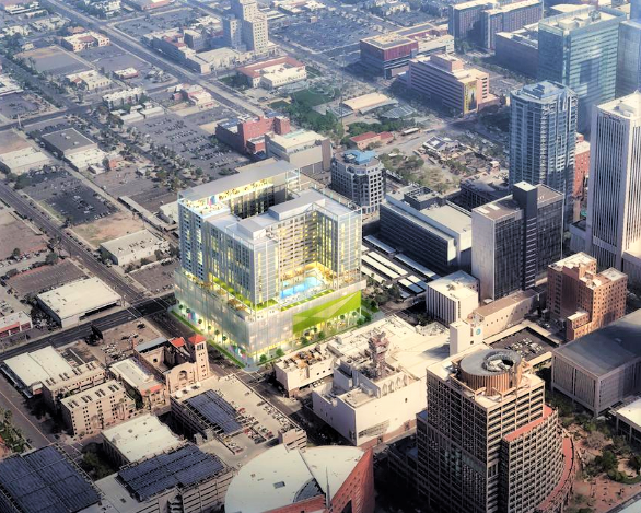 Chicago Developer Makes Phoenix Debut With Proposed Downtown