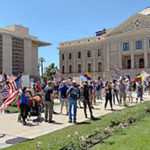Rally calls for an end to mask mandates, end to COVID-19 executive orders
